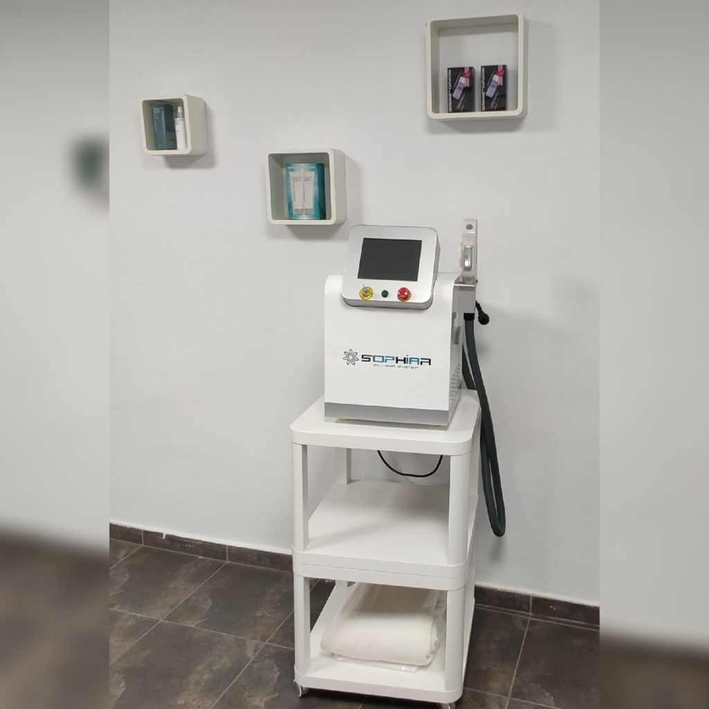 Equipo de Fotodepilación centro de estética en Trujillo